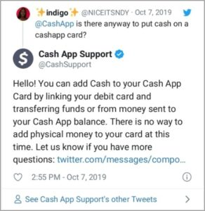 Add Money to Cash App Card in Store