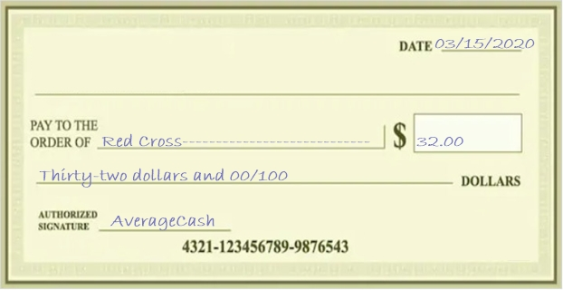 write a check without cents stepbystep guide  examples