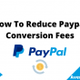 How To Reduce Paypal Conversion Fees, June 2021