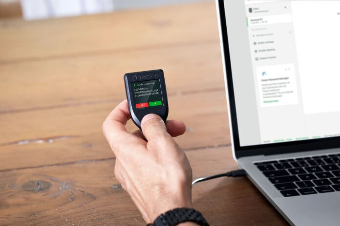 How to Use a Trezor Wallet, June 2021