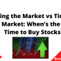 Timing the Market vs Time in the Market When's the Best Time to Buy Stocks, June 2021