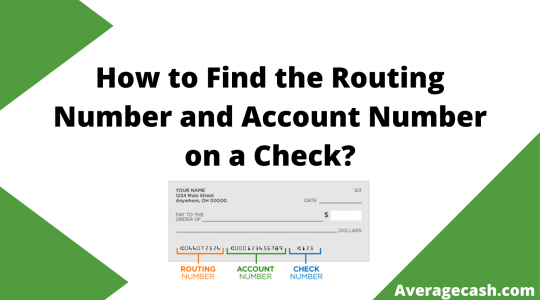 How to Find the Routing Number and Account Number on a Check, August 2021